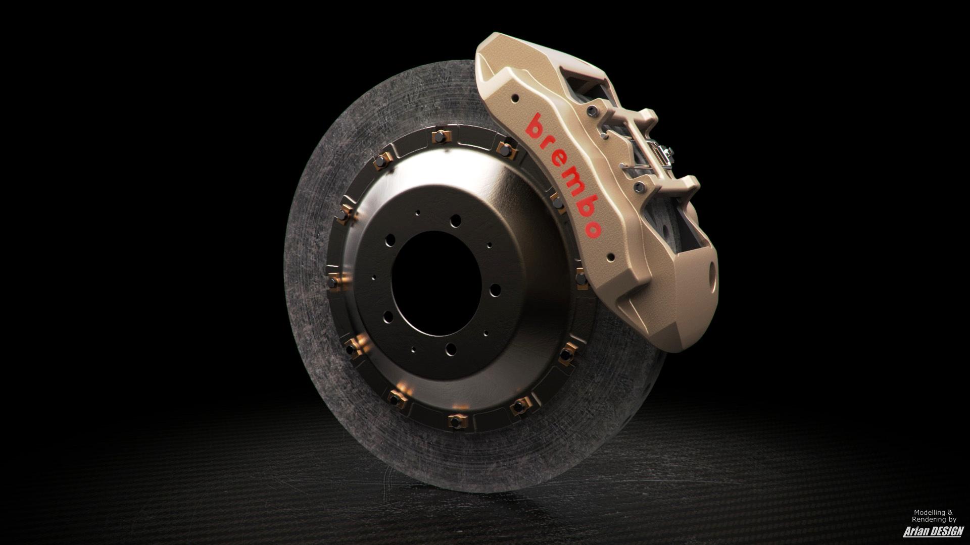 Moi Gallery Brembo Carbon Ceramic Brake Kit