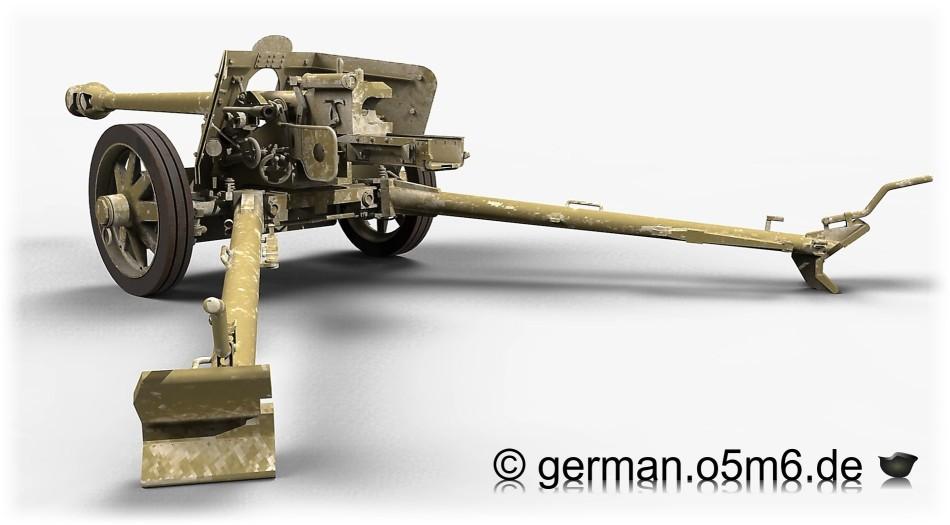 German 50 Mm Anti Tank Gun: 75mm Pak 40