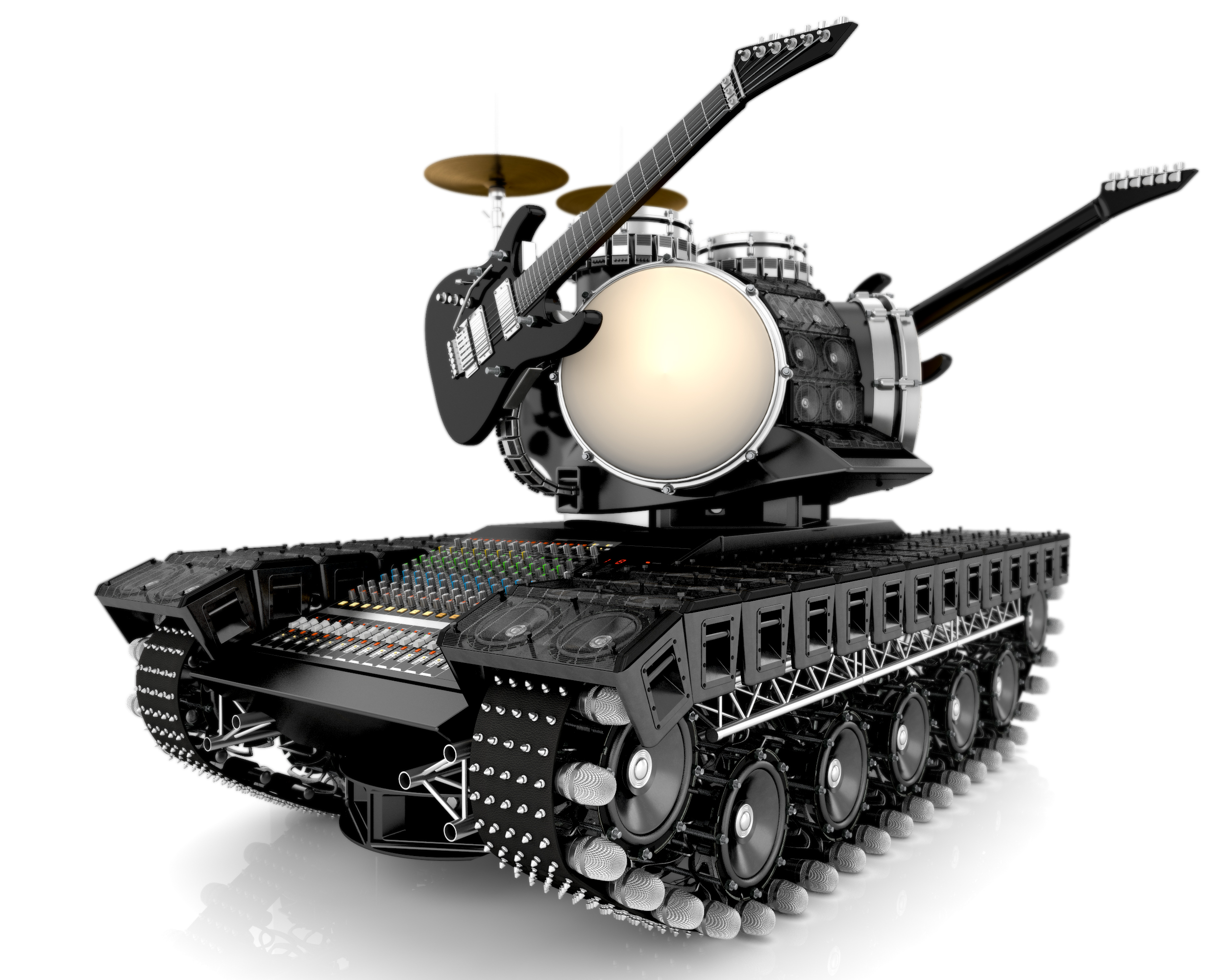 Moi gallery metal tank