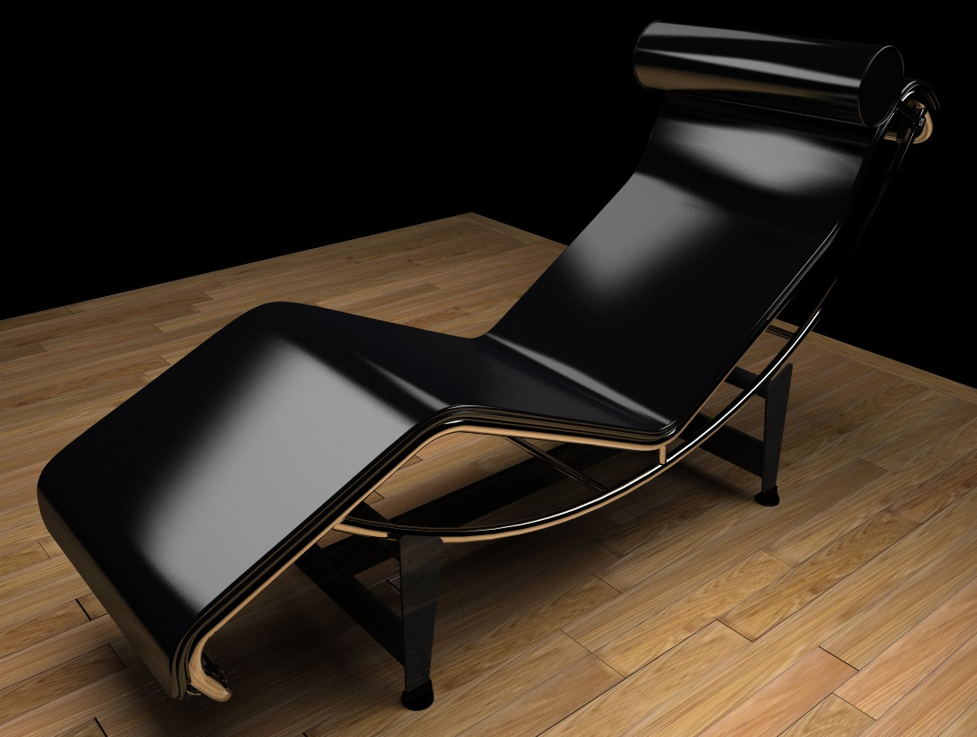 moi gallery lc4 chaise longue by c perriand le corbusier. Black Bedroom Furniture Sets. Home Design Ideas