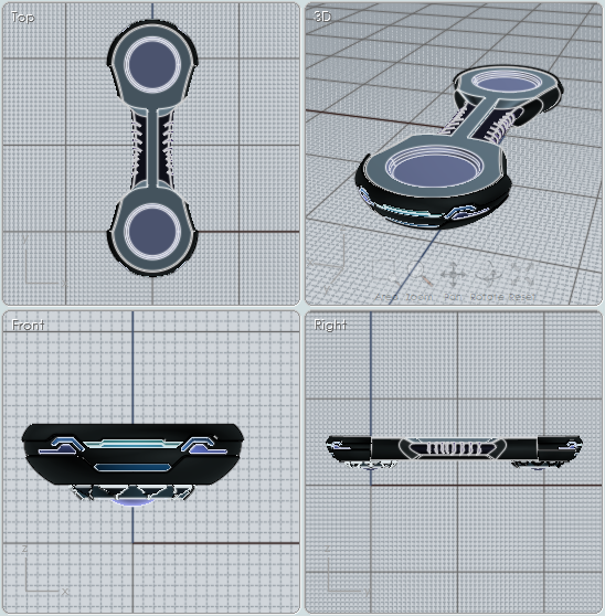 Moi Gallery Zero Gravity Airborn Jet Hoverboard